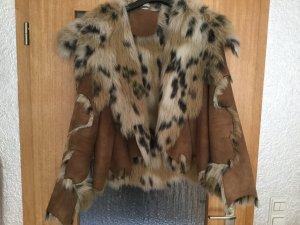 Tolle Jacke animal Fake Fur