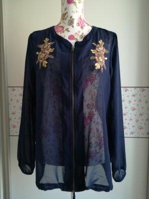tolle Jacke, Bluse von Zizzi mit Stickerei