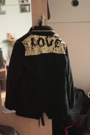 lost Oversized Jacket black-sand brown