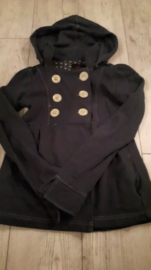 Oversized Jacket dark blue