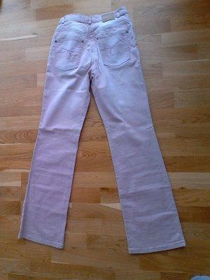 Olsen Jeans taille haute multicolore coton