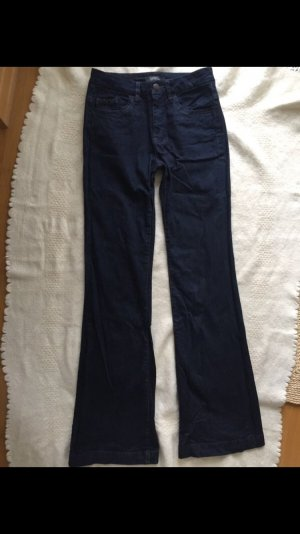 Esprit Jeans flare bleu foncé