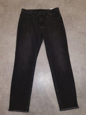 Hallhuber 7/8-jeans antraciet