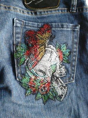 Tolle Jeans von Ed Hardy in typischem Design