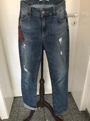 Liu jo Boyfriend Jeans multicolored cotton