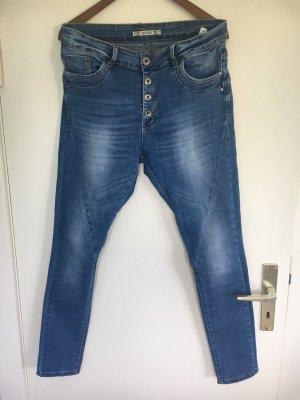 Luxury denim Hoge taille jeans veelkleurig