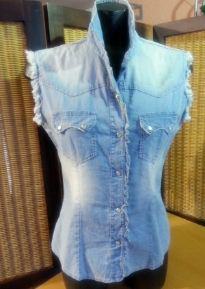 Tolle #Jeansbluse von #Please in Gr. 38