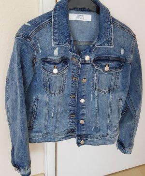 Zara Woman Denim Jacket blue