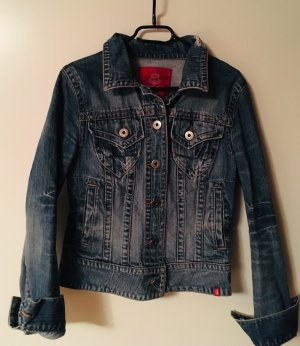 Tolle Jeansjacke in angedeutetem Used Look