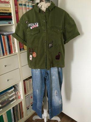 Tolle Jeansjacke von ZARA mit Patches