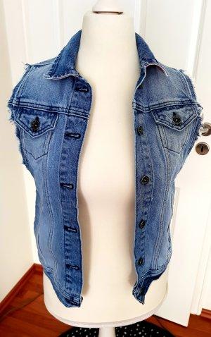 tolle jeansweste von vans gr.s