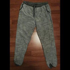 tolle jogginghose weiß grau gr.m