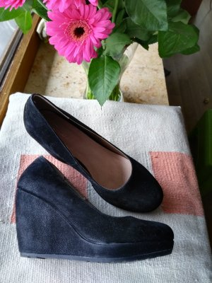 Tolle Keilschuhe Damen Pumps in schwarz, elegant & schön!