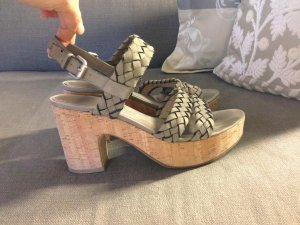 Kennel + schmenger High-Heeled Sandals grey