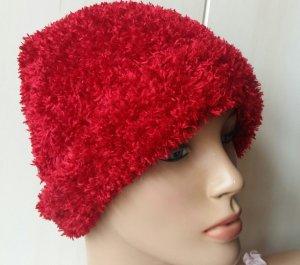 tolle Kuschel Mütze Hut für den Winter für Damen wie neu