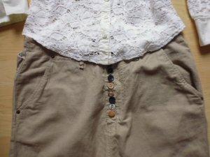 Maison Scotch Harem Pants camel cotton