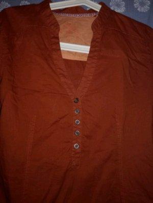 Tolle Langarm Bluse zum hoch knöpfen von EDC Gr.S