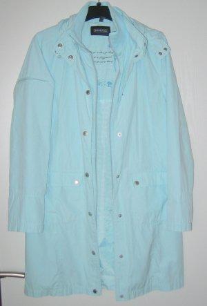 Tolle lange Jacke in aquablau von Street One