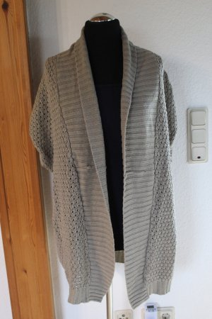 Tally Weijl Coarse Knitted Jacket beige polyacrylic