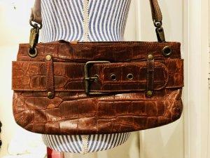 Tolle Leder-Handtasche Massimo Dutti