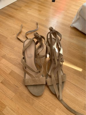 Hallhuber Sandaletto con tacco alto color cammello