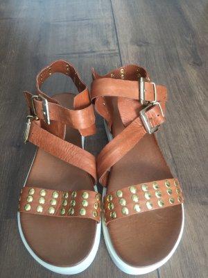 Tolle Leder Sommer Sandale