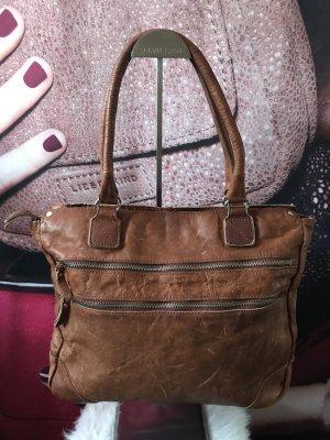 5th Avenue Handbag cognac-coloured