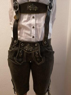 Tolle Lederhose Gr. 38, Country Maddoxx, knielang Neu!!!