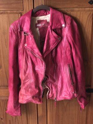Tolle Lederjacke von Freaky Nation in pink