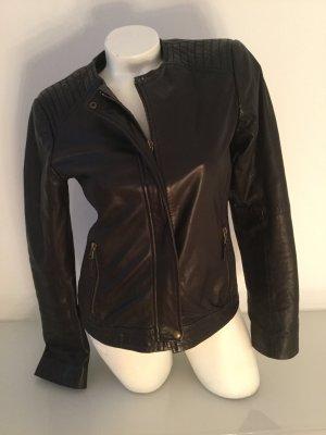Tolle Lederjacke von Tom Tailor, schwarz, Gr. M