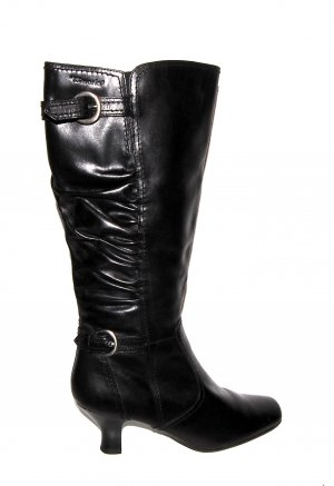 Tolle Lederstiefel in schwarz von Tamaris Gr.39
