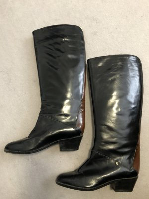 Aigner Heel Boots black leather
