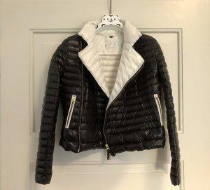 Brasi&Brasi Down Jacket black-white