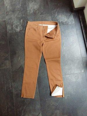Tolle leichte Jeans in Cognacbraun