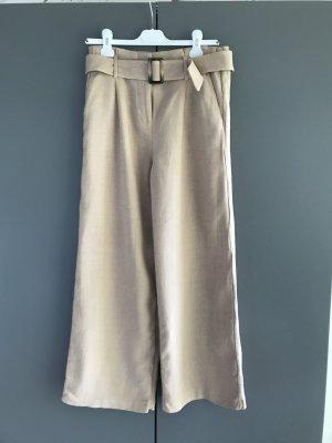 Next Pantalone Marlene beige-color cammello Lino