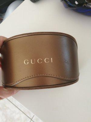 Gucci Hoekige zonnebril mauve