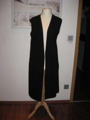 Drykorn Gilet long tricoté noir