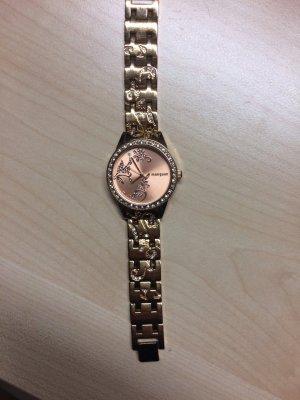 Tolle Magnuum Uhr mit Blumenornamente und einem Muster