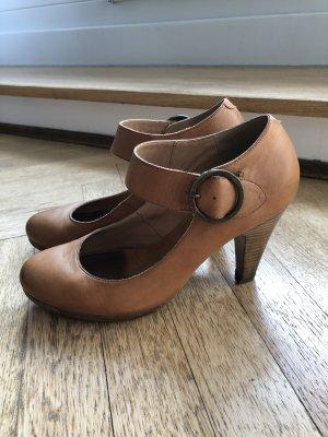 Görtz Zapatos Mary Jane camel