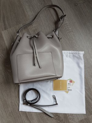 Tolle Michael Kors Greenwich Bucket Bag in Grau Pink