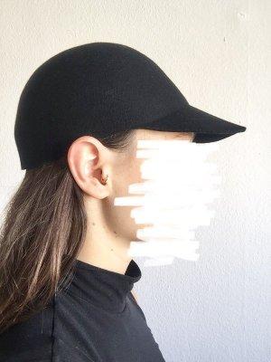 COS Wollen hoed zwart Wol