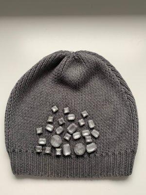 Steffen Schraut Crochet Cap grey
