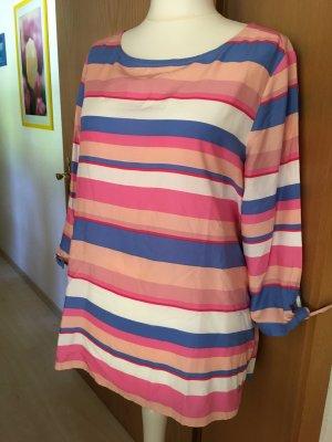 tolle neue Bluse von Cecil Gr. XL rosa,hblau, weiss
