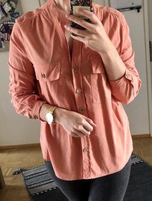 Mango Long Sleeve Blouse multicolored