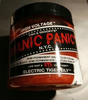 tolle neue haarfarbe manic panic orange