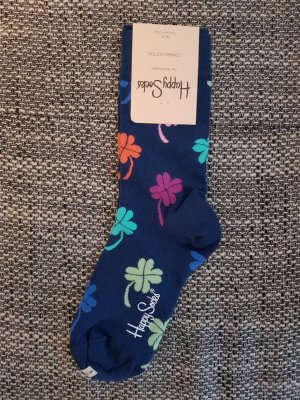 Happy socks Manchetten donkerblauw
