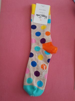 Tolle neue happy socks gr.36-40 punkt bunt