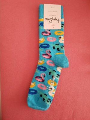tolle neue happy socks gr.36-40 sommer hellblau