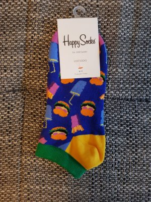 tolle neue happy socks low gr 36-40 burger