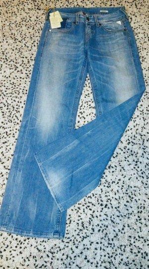 Tolle neue REPLAY Jeans Hose Mit Knöpfen zu schließen